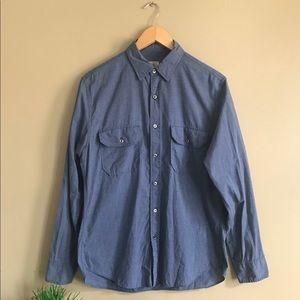 J. Crew Heathered utility shirt